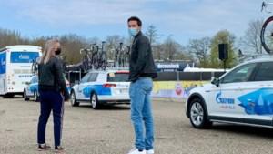 Wie we daar hebben: Tom Dumoulin is opvallende toeschouwer bij Amstel Gold Race