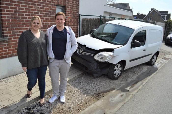 """Auto met 16 kilogram cannabis in crasht tegen wagen van Jean-Louis: """"Ik rook meteen wat het was"""""""