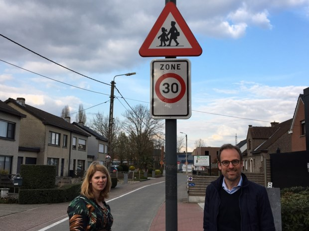 Schoolomgeving Olsene krijgt vaste zone 30 en fietszone