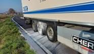 Remmen van vrachtwagen oververhit in Velm