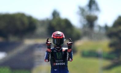Na nieuwe MotoGP-zege viert Fabio Quartararo niet langer als Mbappé of Van der Poel, maar als Ronaldo
