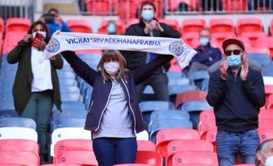 Weer (enkele) supporters in Engelse stadions: 4.000 fans zien Leicester zich plaatsen voor FA Cup-finale