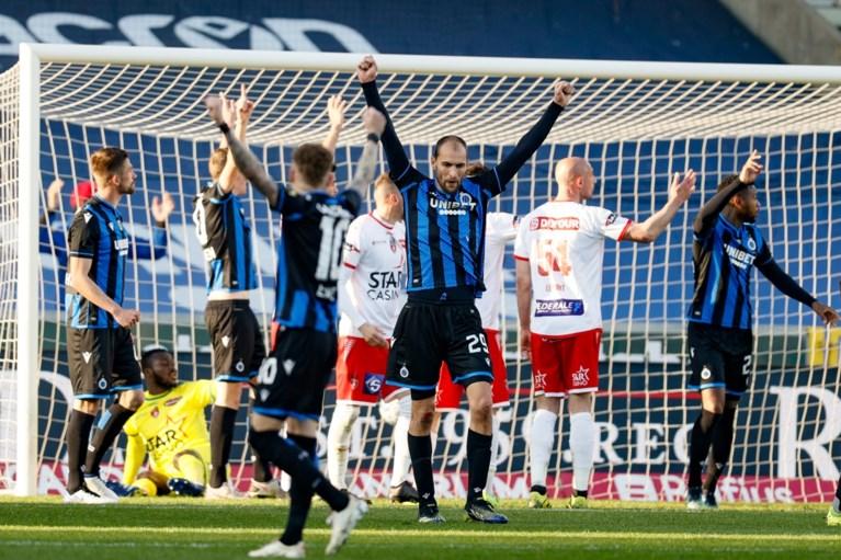 Na jaren flirten is degradatie nu toch een feit voor Moeskroen: Club Brugge duwt de Waalse club naar 1B door met 4-2 te winnen