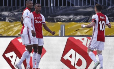 Ajax klopt Vitesse ondanks doelpunt Loïs Openda en wint Nederlandse beker