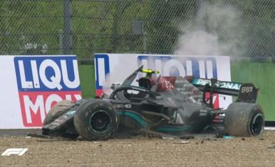 Chaos tijdens Formule 1 in Imola: race tijdlang stilgelegd na zware crash van Bottas en Russell