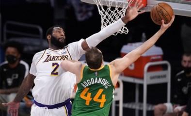 Utah Jazz verliest zonder Mitchell van de Lakers, Boston zet zegereeks verder