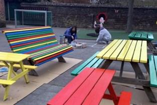 Leerlingen Triangel herstarten met kleurrijke speelplaats