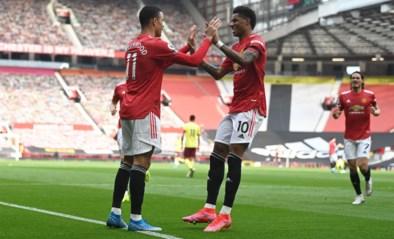 Manchester United zet in slotfase toch nog staartploeg opzij en neemt serieuze optie op tweede plaats in Premier League