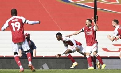 Arsenal sleept in 97ste minuut (!) gelijkspel uit de brand