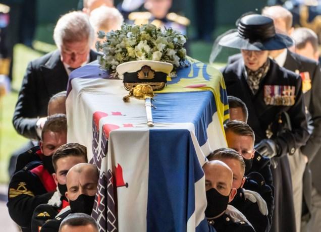 Dertien miljoen Britten volgden uitvaart prins Philip op tv