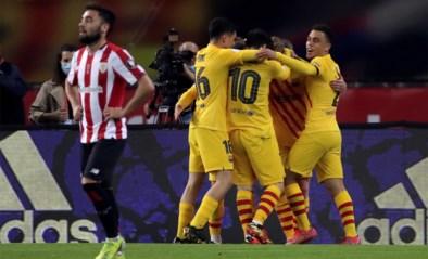 De baard is weg, de klasse niet: FC Barcelona wint Copa del Rey dankzij sterke Lionel Messi