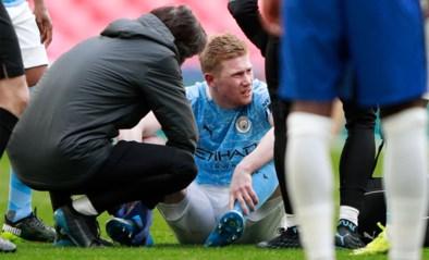 Manchester City weet nog steeds niet hoe erg de blessure van Kevin De Bruyne is