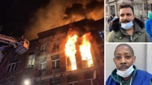 """Zij ontsnapten aan vuurzee in Anderlecht: """"Ik kan alleen maar hopen dat mijn bovenburen niet thuis waren"""""""