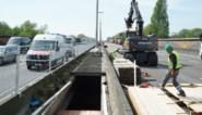 Veel minder ongevallen aan werken op E17-viaduct in Gentbrugge, maar nog te veel hardrijders