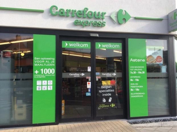 Nachtelijke inbraak in Carrefour Express