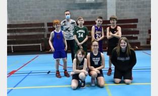 Jonge Dunkertjes genieten toch van basketstage