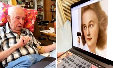 """Weduwnaar geëmotioneerd wanneer foto van overleden vrouw tot leven komt door app: """"Alsof ze hier is"""""""