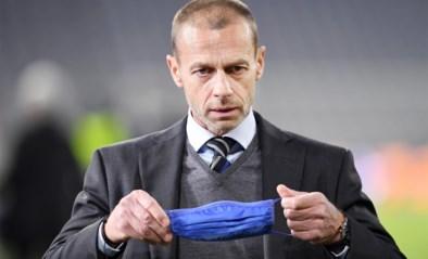 """UEFA-voorzitter Ceferin bevestigt straf dreigement: """"Geen EK of WK voor spelers die meedoen aan Super League"""""""