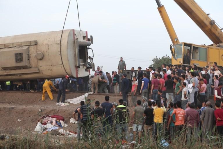 Treinongeval in Egypte: 11 doden en 98 gewonden
