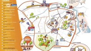 Diest stelt kaart voor met alle speeltuinen en sportterreinen