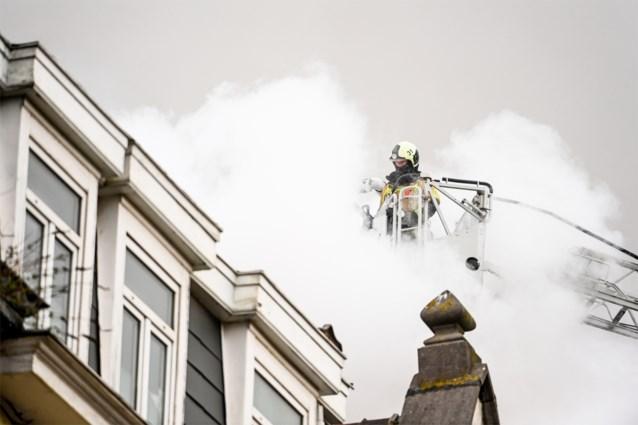 Bluswerken afgelopen na zware woningbrand Anderlecht