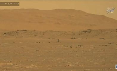 Helikopter Ingenuity maakt historische vlucht op Mars