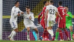 Tussen alle Super League-gedoe door: Liverpool laat belangrijke punten liggen op bezoek bij Leeds United