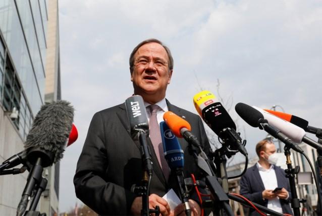 CDU kiest voor Laschet als kandidaat-bondskanselier