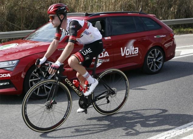 """Marc Hirschi na tegenvallende Amstel Gold Race: """"Ik hoop dat het in de Waalse Pijl beter gaat"""""""