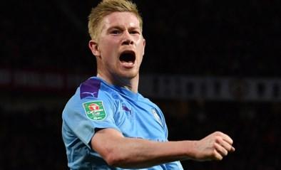 """Hoopvol nieuws: """"Kevin De Bruyne kan mogelijk al spelen in Carabao Cup-finale van zondag"""""""