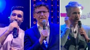 Metejoor zingt monsterhit '1 op een miljoen' met BV's in 'De Cooke & Verhulst show'