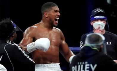 Titanengevecht tussen Anthony Joshua en Tyson Fury in Saudi-Arabië