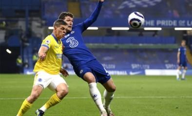 Er wordt ook nog gevoetbald: Leandro Trossard en Brighton pakken een puntje bij Chelsea