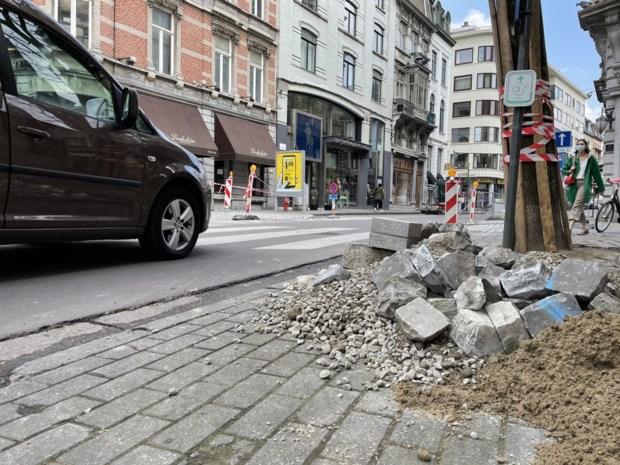 Drukke straat in centrum Gent tien dagen lang dicht: voetgangers krijgen veiligere oversteek