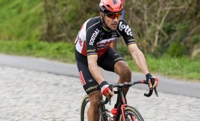 """Philippe Gilbert gaat tegen het asfalt op training: """"Niet de ideale voorbereiding"""""""