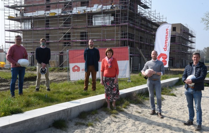 Volkswelzijn bouwt twee blokken met telkens tien flats in nieuwe wijk Elsbos