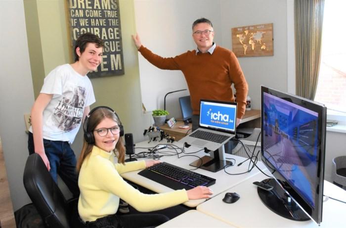 """Philip (44) biedt onderwijs aan via Minecraft: """"Met Icha daag ik de jongeren uit"""""""