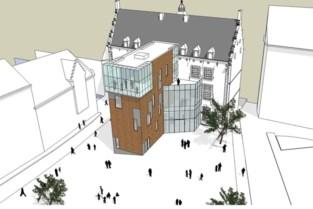 Ook schepencollege blijkt geen fan van omstreden ontwerp voor achterbouw stadhuis