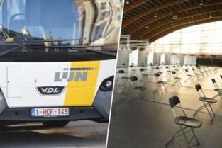 Bruggelingen gaan voortaan gratis met bus naar vaccinatiecentrum