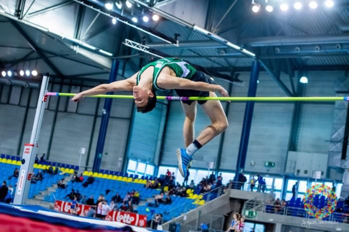 """Vicekampioen Lars Van Looy hoopt 2,20m-barrière te slopen: """"Ik ben sterker en beschik over meer spieren"""""""