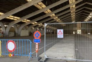 Hallen op Veemarkt afgezet wegens instortingsgevaar