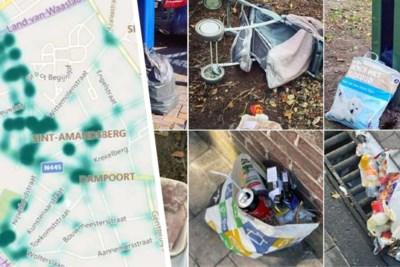 Sluikstorters in kaart gebracht: dit zijn de vuilste wijken van Gent