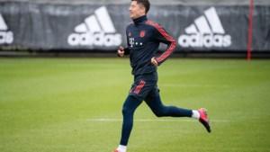 Topspits Robert Lewandowski hervat groepstraining bij Bayern München