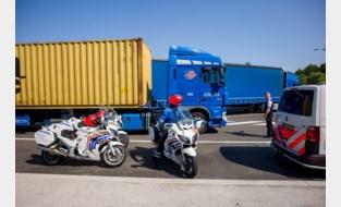 Trucker onder invloed van cocaïne en cannabis achter stuur