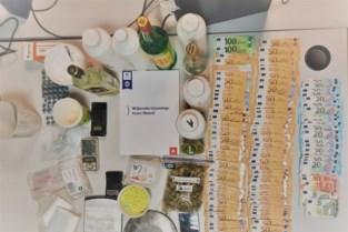 Politie vindt cocaïne, ketamine en xtc-pillen bij huiszoeking