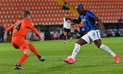 Inter en Romelu Lukaku laten punten liggen tegen staartploeg Spezia, maar lopen in de stand wel uit op eerste achtervolger AC Milan