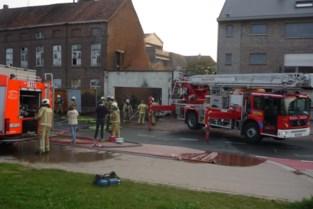Weggesprongen gensters oorzaak van hevige brand