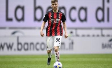 Alexis Saelemaekers helpt AC Milan met assist aan voorsprong tegen Sassuolo