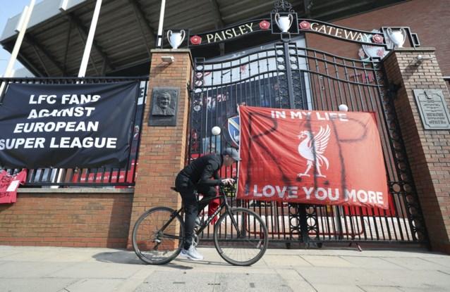 Premier League-clubs trekken zich allemaal terug uit Super League