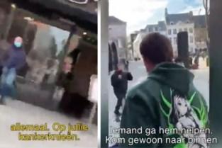 Hasselts filmpje met vechtende 'kankerbelg' gaat viraal: twee pv's opgesteld